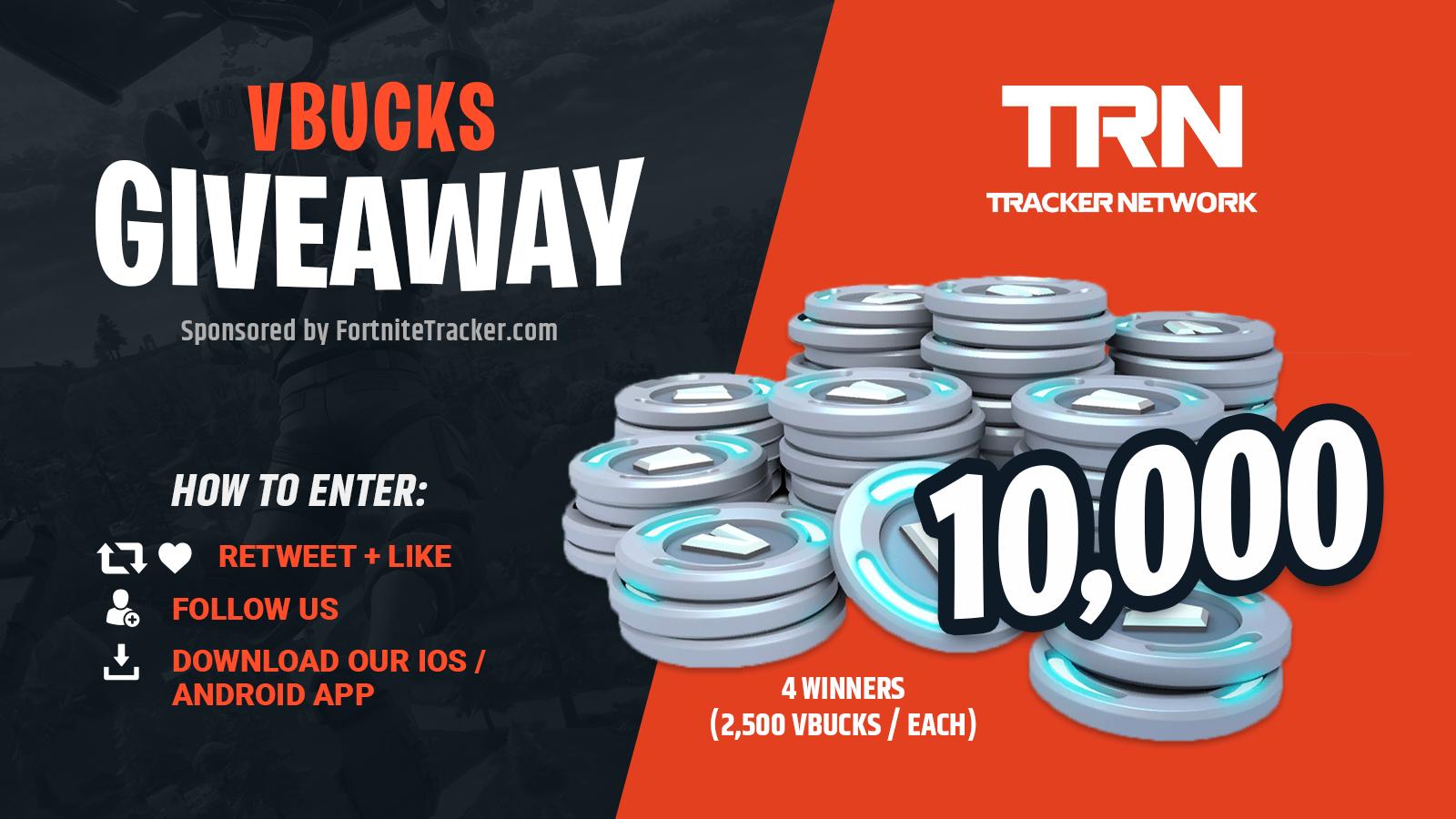 Fortnite V Bucks Trackers - Get Free V Bucks From Epic Games