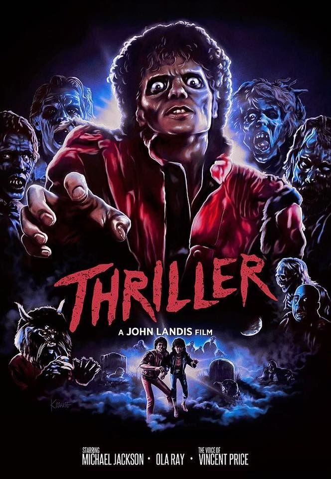 Michael Jackson's Thriller (1983) Michael jackson poster