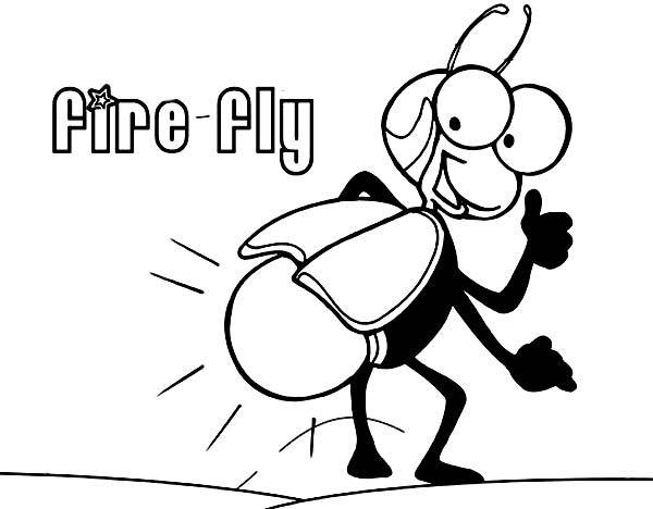 Firefly Lightning Bug Coloring Page Bug Coloring Pages Coloring Pages Super Coloring Pages