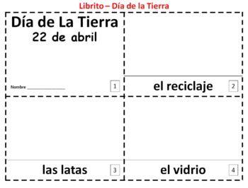 Earth Day in Spanish 2 Booklets - Dia de la Tierra