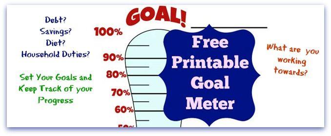 fundraising goal template