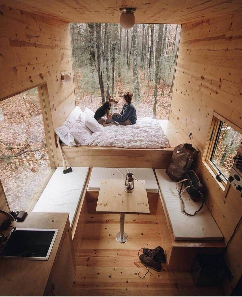 This Structure Is A Return To What Eccentric Looks Like Work In A Bed Room This Is A Heterogeneous S Tiny House Design Tiny House Decor Tiny House Inspiration
