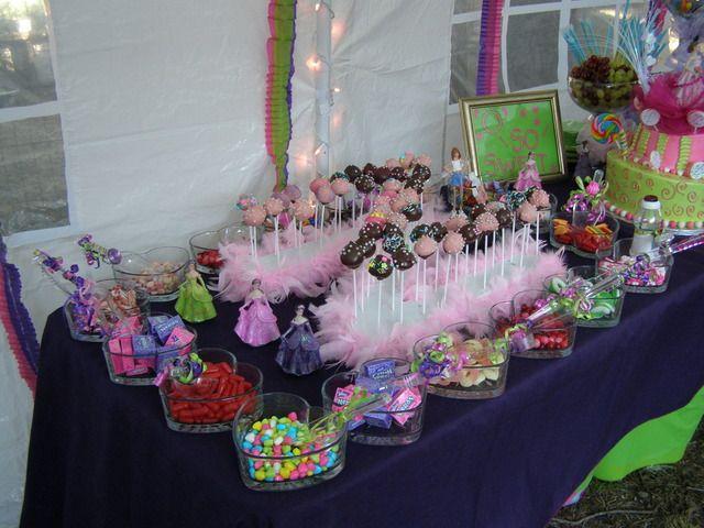 Candy Buffet Quinceañera Party Ideas   Quinceanera Ideas ...
