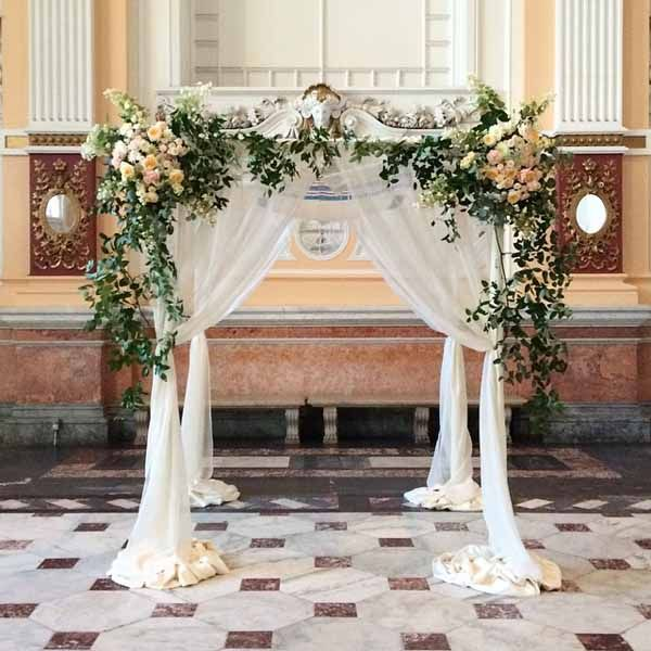 Wedding Altar Blueprints: Bringing An Organic And Free Form Style Into A Traditional