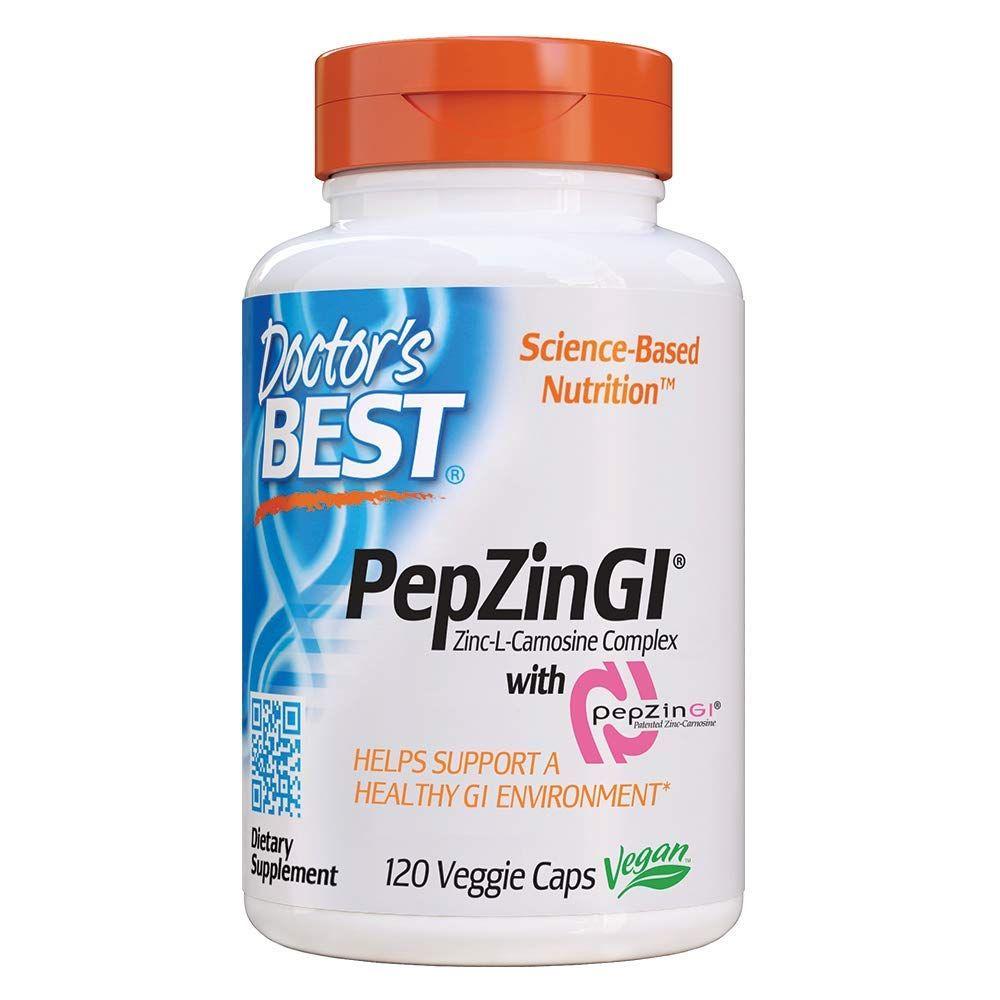 Doctors Best Zinc L Carnosine Complex Digestive Veggie Caps Best Doctors Serrapeptase