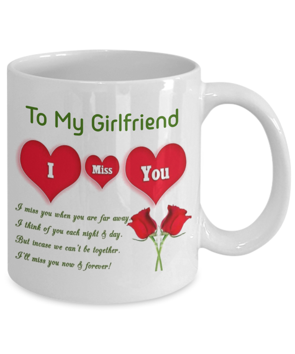 To my girlfriend: Girlfriend coffee mug, best gifts for ...