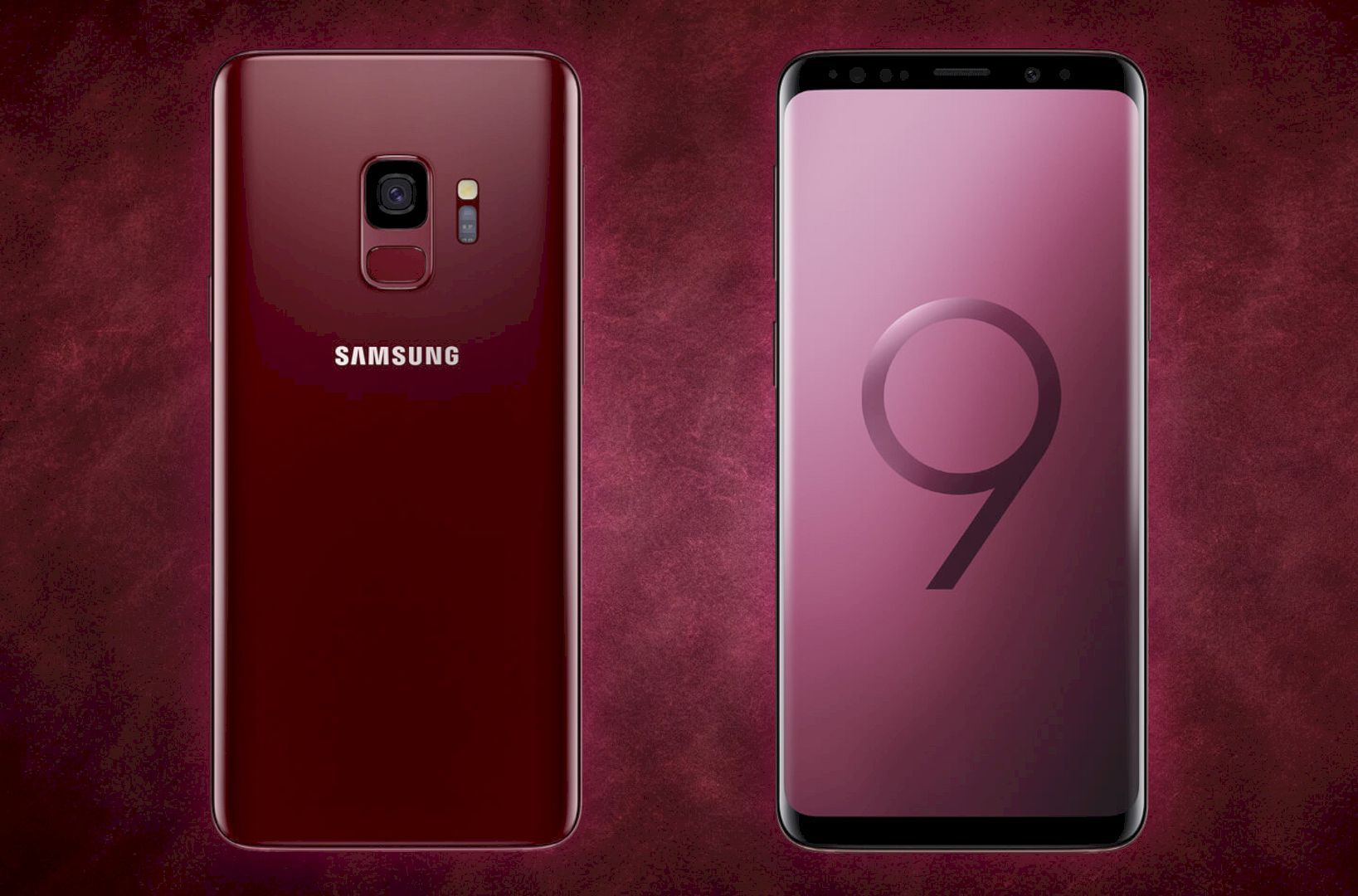 Samsung Galaxy S9 And S9 Vibrant Colors Sunrise Gold And Burgundy Red Editions Samsung Galaxy Samsung Galaxy S9
