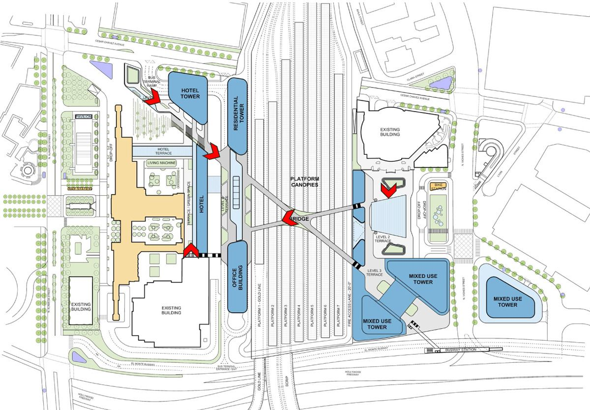 Grimshaw Gruen Finalize Master Plan For Los Angeles Union Station Master Plan Union Station Station