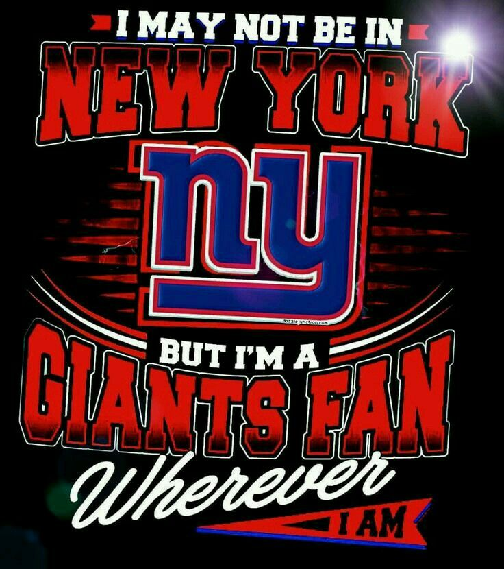 New york giants image by Landon Montague on sports that