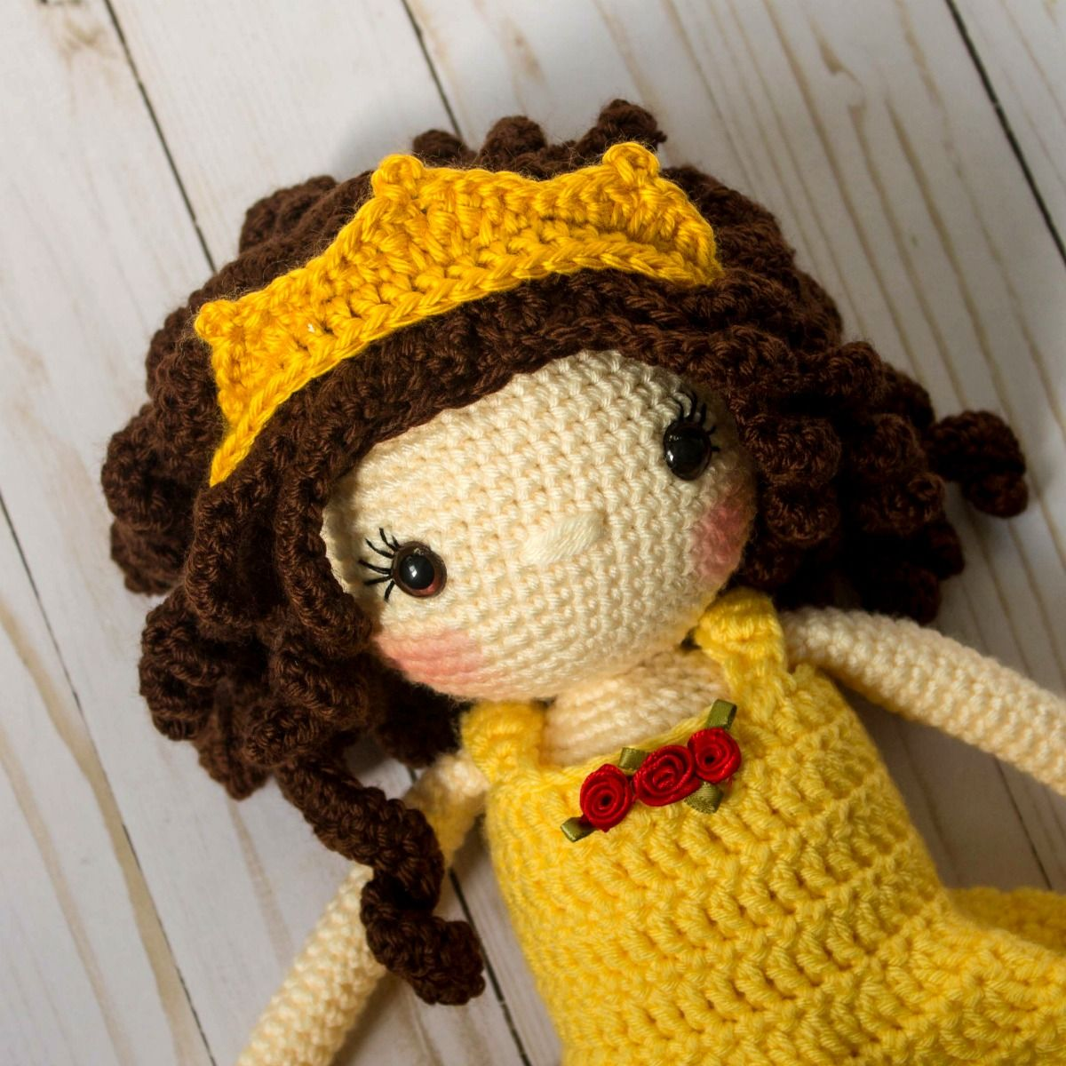 This post contains all the special details to make the Princess Sophie Doll. If you are looking for the base doll pattern, please go here...