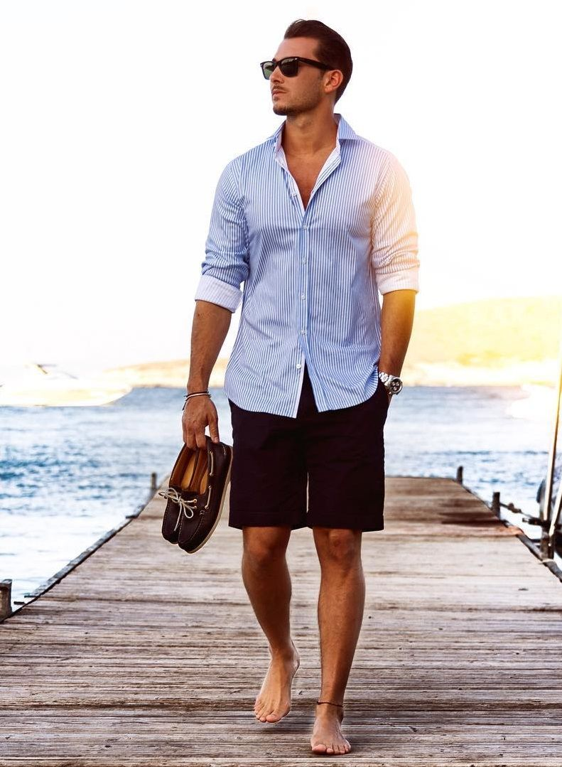 Pin By Men Style Digest On Preppy Life Mens Beach Style Beach Outfit Men Summer Outfits Men Beach [ 1079 x 791 Pixel ]