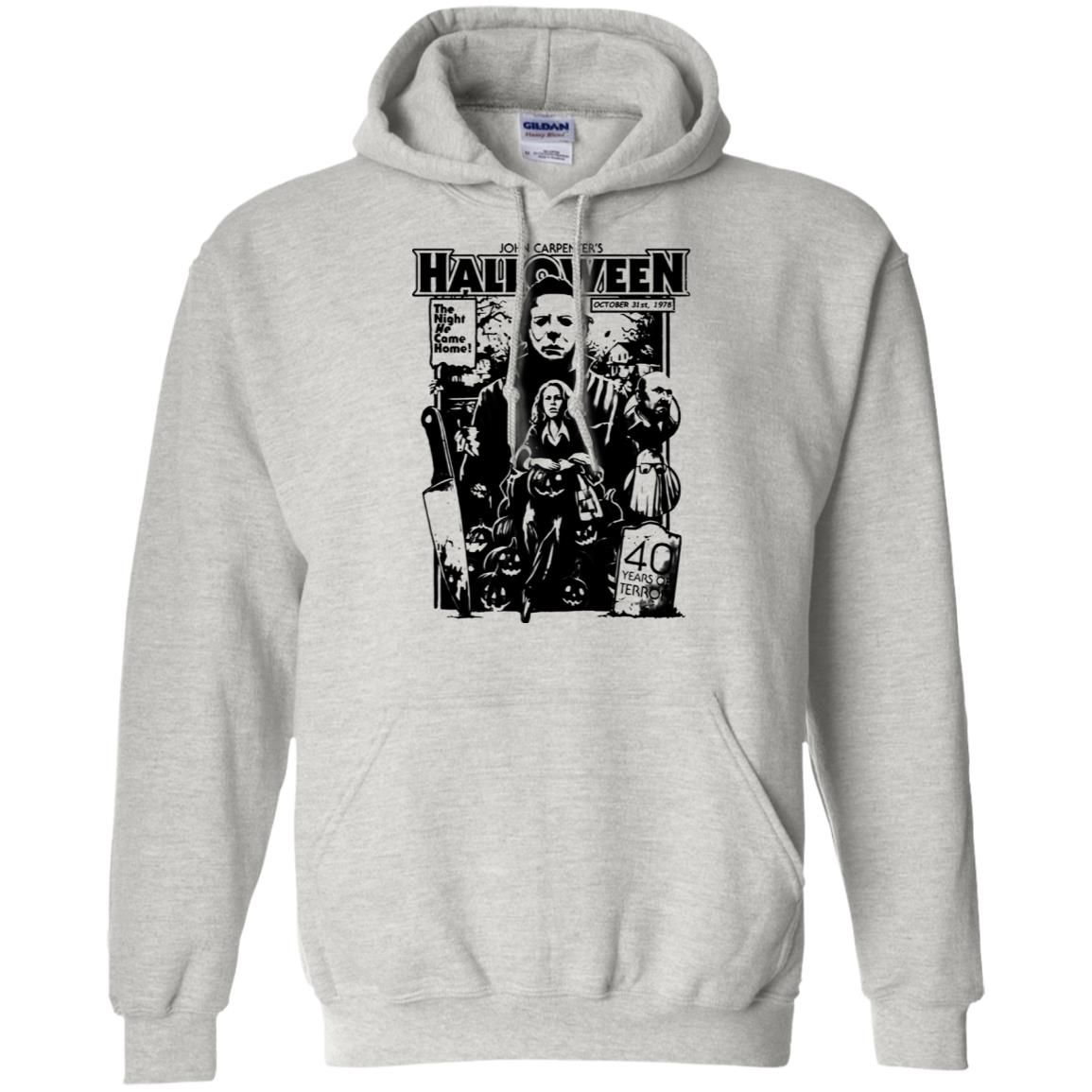 Michael Myers Halloween 1978 Horror Movie Pullover Hoodie