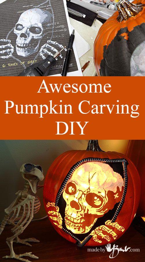 Awesome Pumpkin Carving DIY