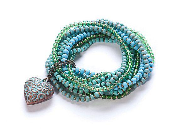 beaded bracelet for women fashion bracelet by almafashionjewelry, $75.00