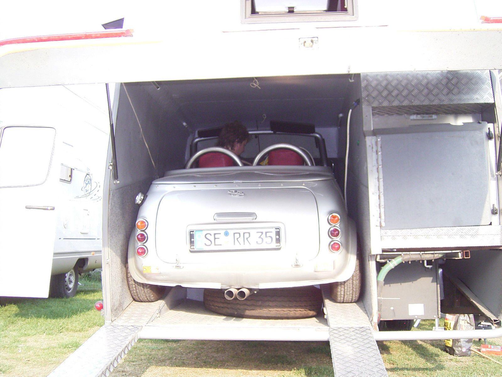 Wohnmobil Mit Cabrioverdeck Garage Im Heck In In Hamburg