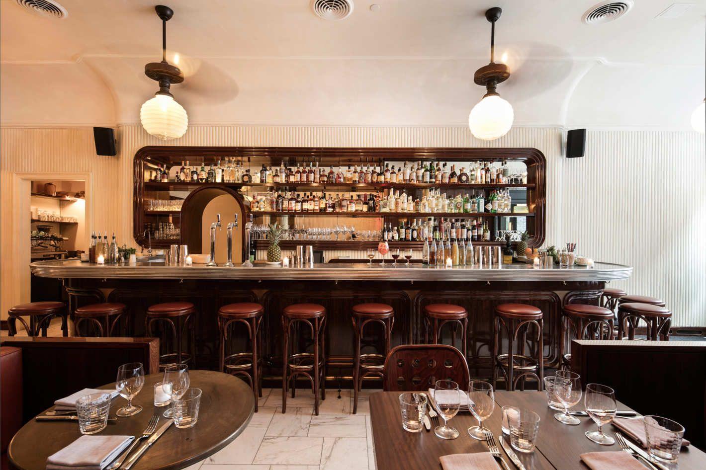 Keith Mcnally S Former Head Chefs Open Frenchette In Tribeca Nyc Restaurants Bar Interior Restaurant