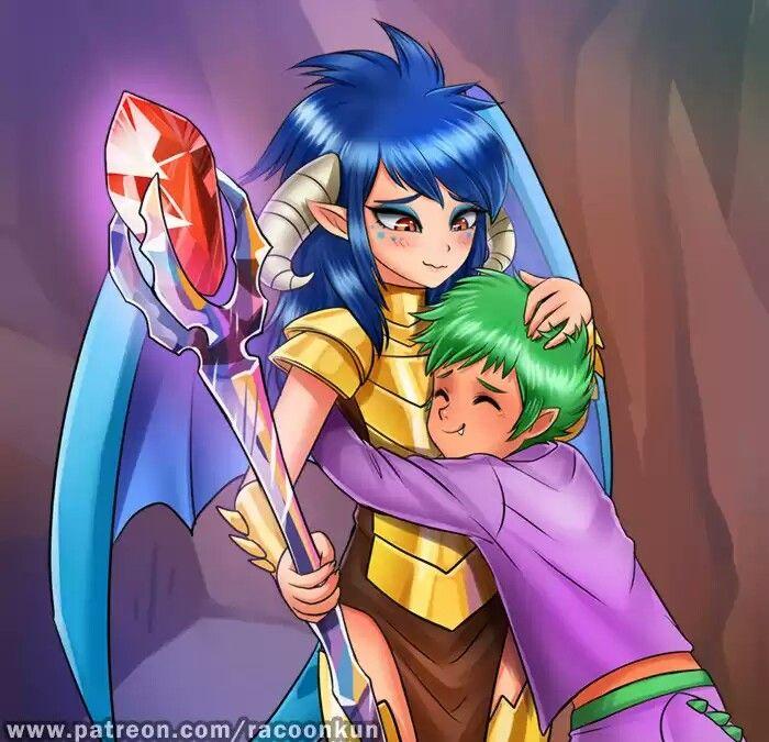 New dragon friend by RacoonKun | My Little Pony | Pinterest | Mi ...