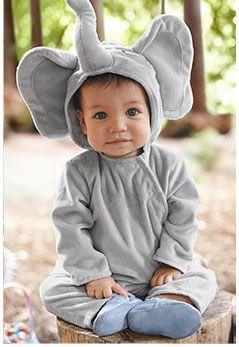 Elephant Halloween Costume Baby Boy Halloween Baby
