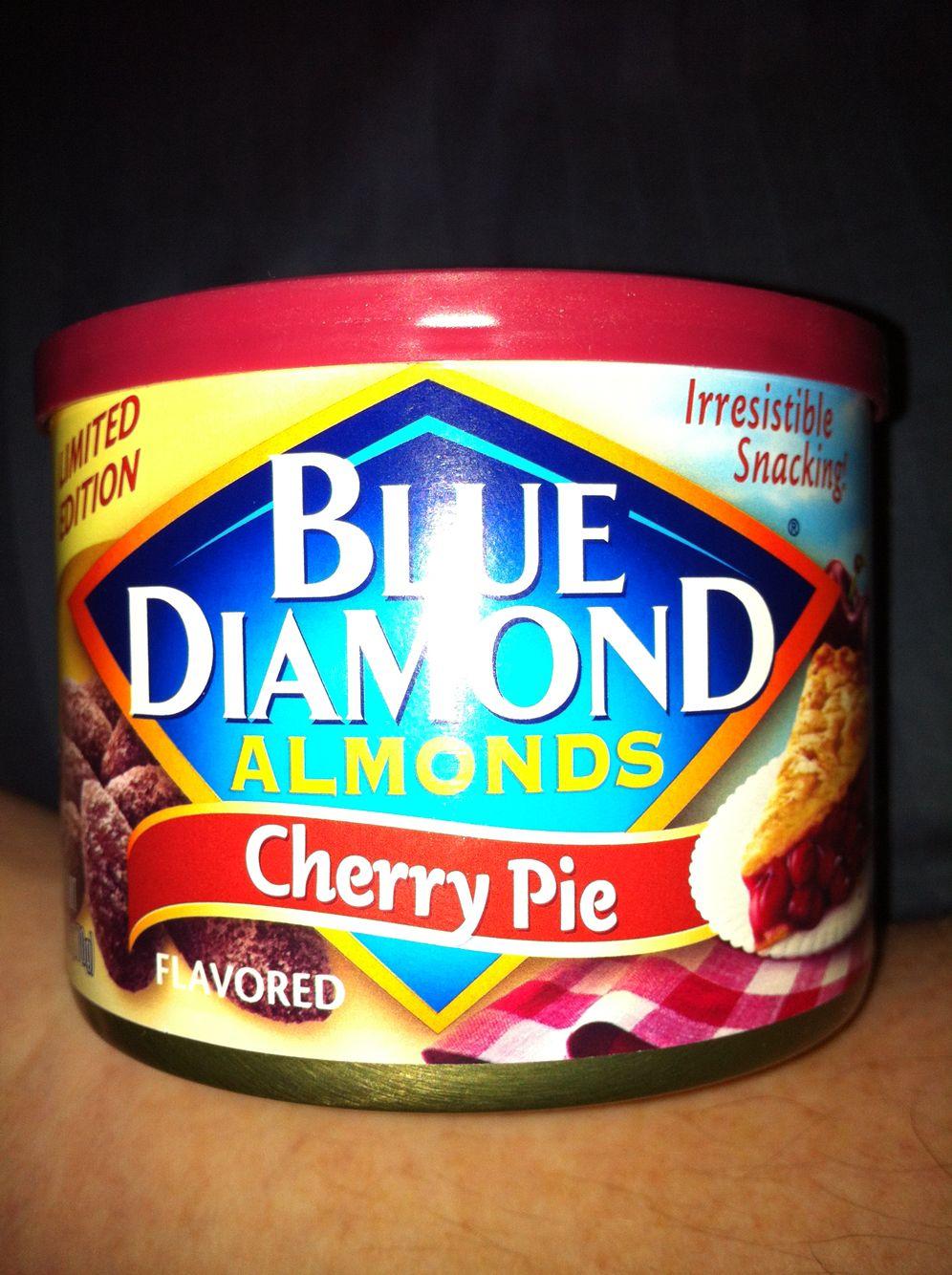 Blue diamond almonds cherry pie flavor