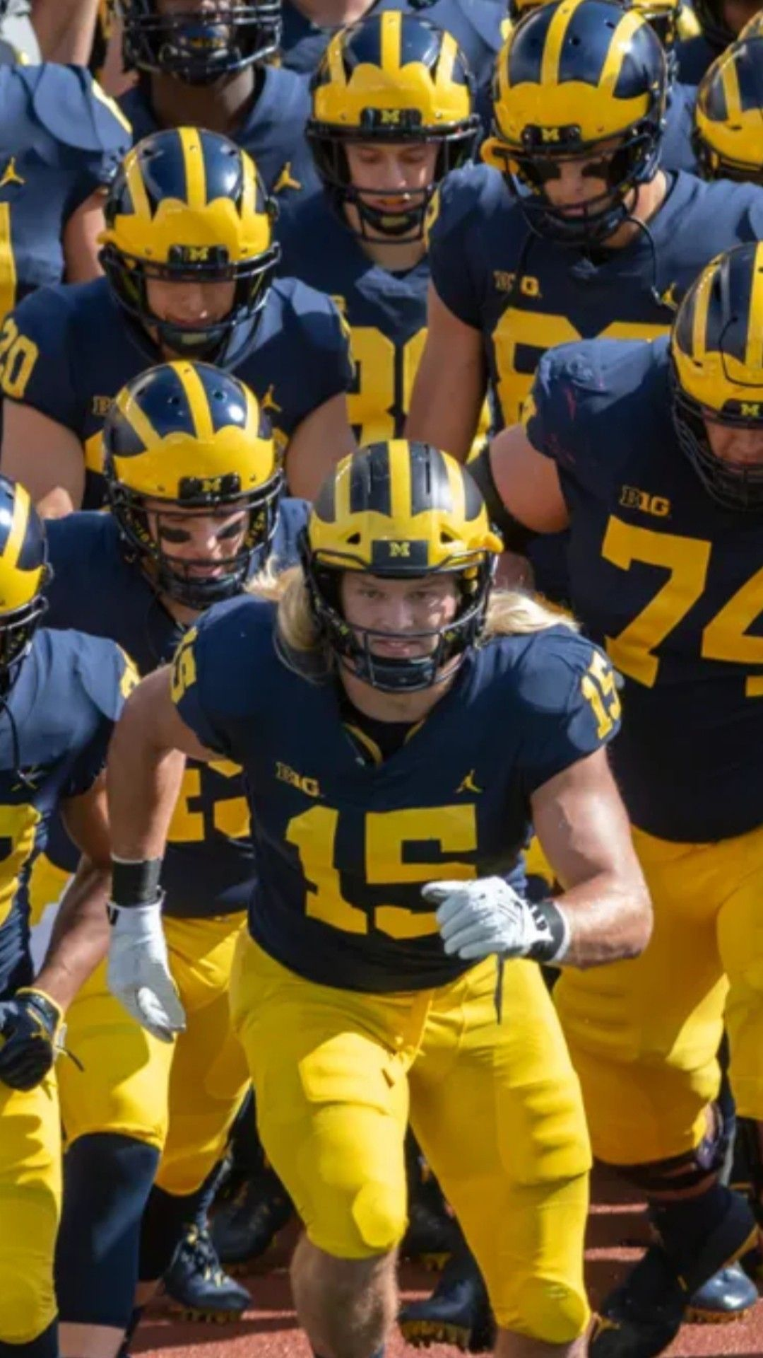 Touch the Banner | Michigan football, College football