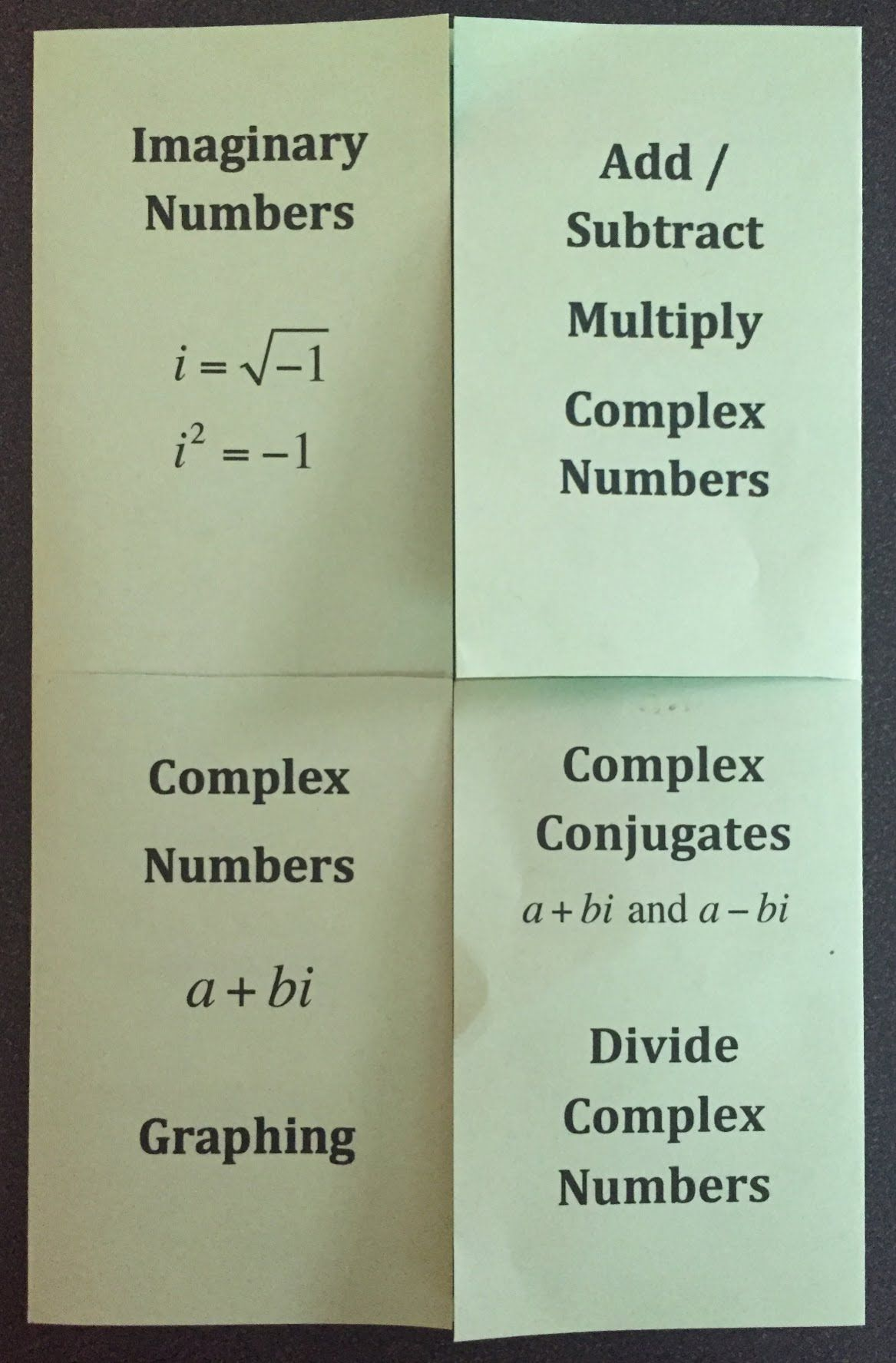 Complex Numbers Are Amazingly Fun To Teach In Algebra 2