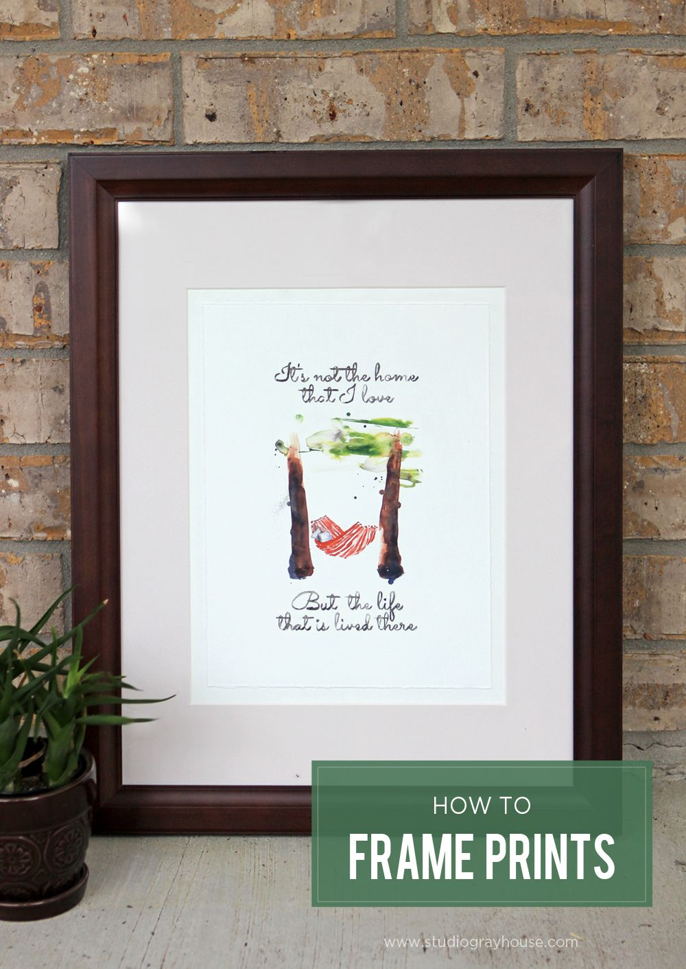 How to frame art prints - Framing Prints Plus A Free Artwork Download