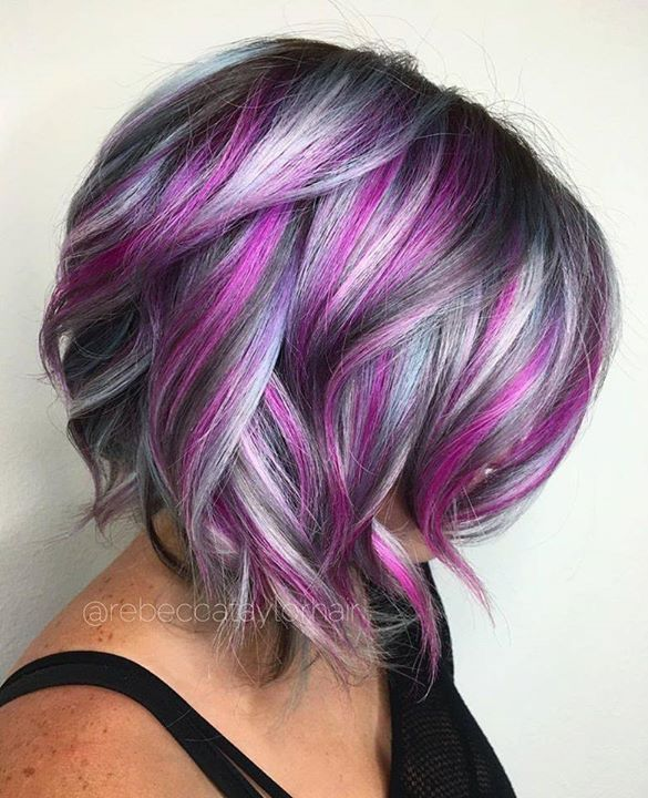 66 Best Blue And Violet Ombre Hair Styles Extensions Images On Pinterest Colourful Colours Black Brown