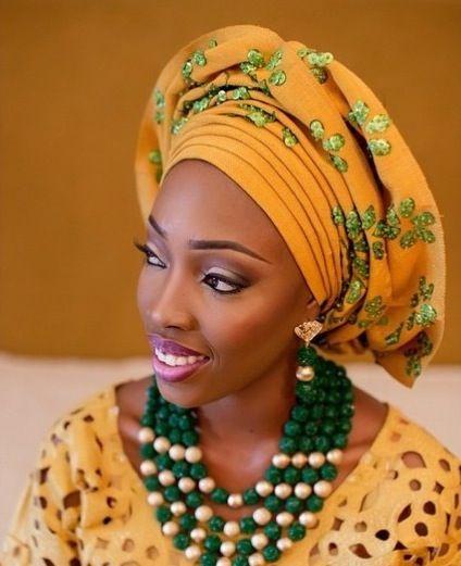 Attaché foulard gélé headwrap ~African fashion, Ankara ...