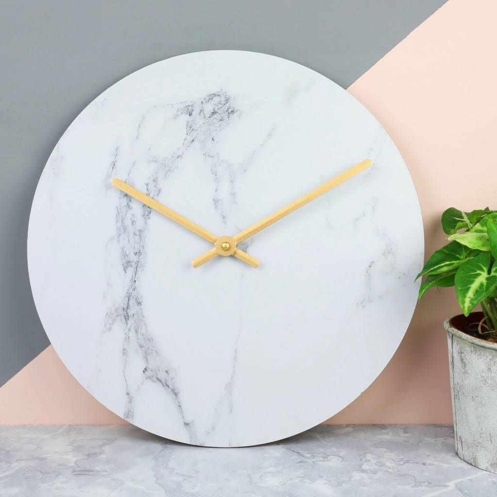 Are You Interested In Our Home Accessories With Our Marble Wall Clock You Need Look No Further Wall Clock Clock Marble Wall