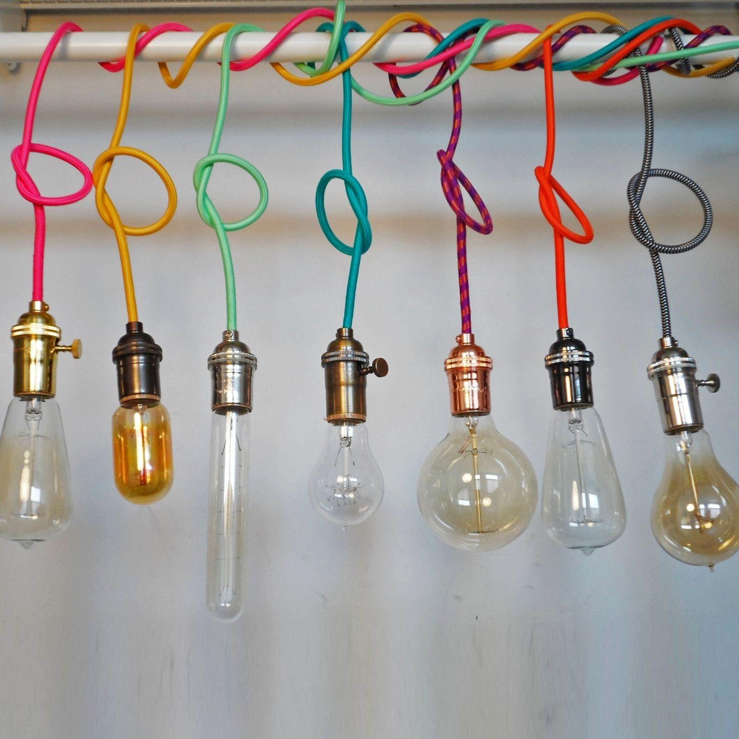 Custom Color Pendant Light I Light