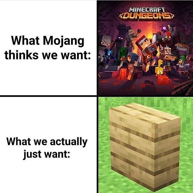 It Would Make Building So Much Easier Play Nrg Mc Com Nrg Nrgmc Gamerpc Gamer Minecraftbuild Vil Minecraft Funny Minecraft Memes Minecraft