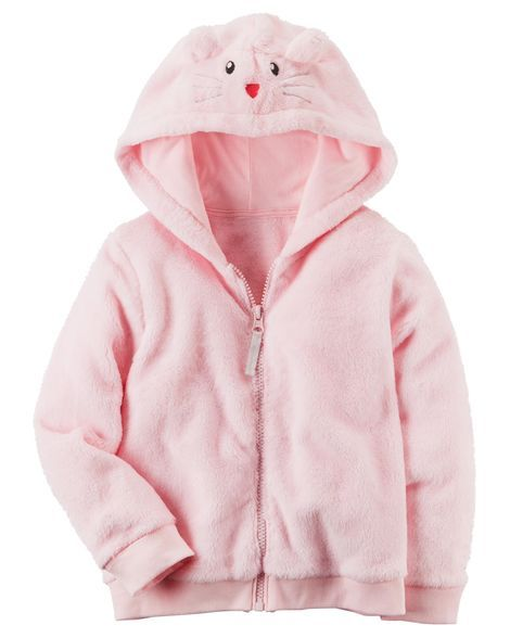 Baby Girl Fuzzy Mouse Hoodie From Carters Com Shop Clothing