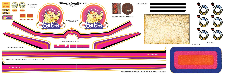 barbie bus neu