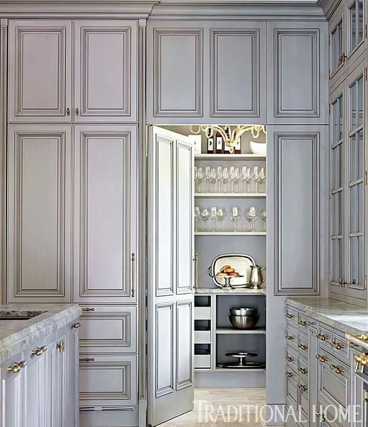 Likes  COUNTER TO CEILING CABINETS IDEA, But In White...and Cabinet Panels  On Swing Door, Swing Door, Color May Work For Island Armario