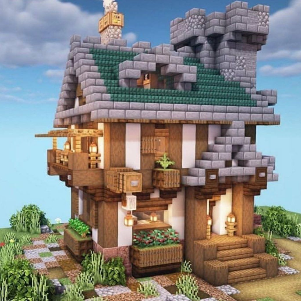 "Best of Minecraft Builds on Instagram: ""What do you think? @minecraft_house0 —————————— 👉 FOLLOW @bestofminecraftbuilds 👉 FOLLOW @bestofminecraftbuilds 👉 FOLLOW…"""