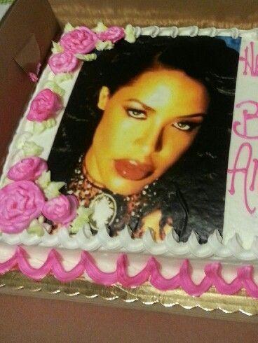 My Aaliyah Birthday Cake So Beautiful I Didn T Wanna Eat It Aaliyah Birthday Cake Sweet Treats