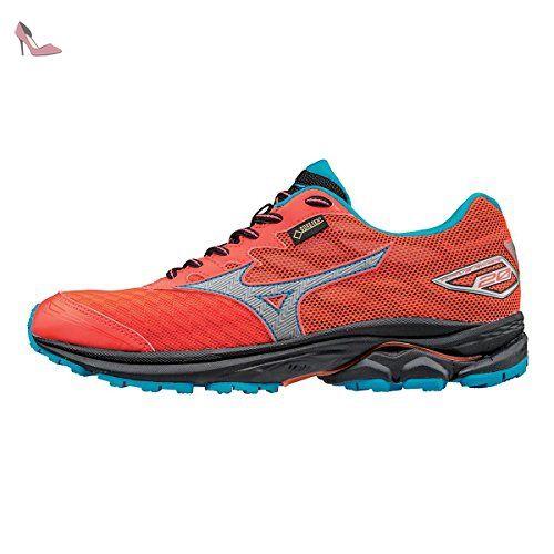 Mizuno pour femme Wave Rider 20 Gore-Tex Chaussures de course à pied (Rose