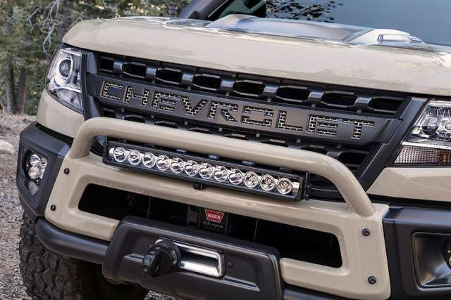 2020 Chevy Colorado Zr2 Prototype Grille Colorado Canyon