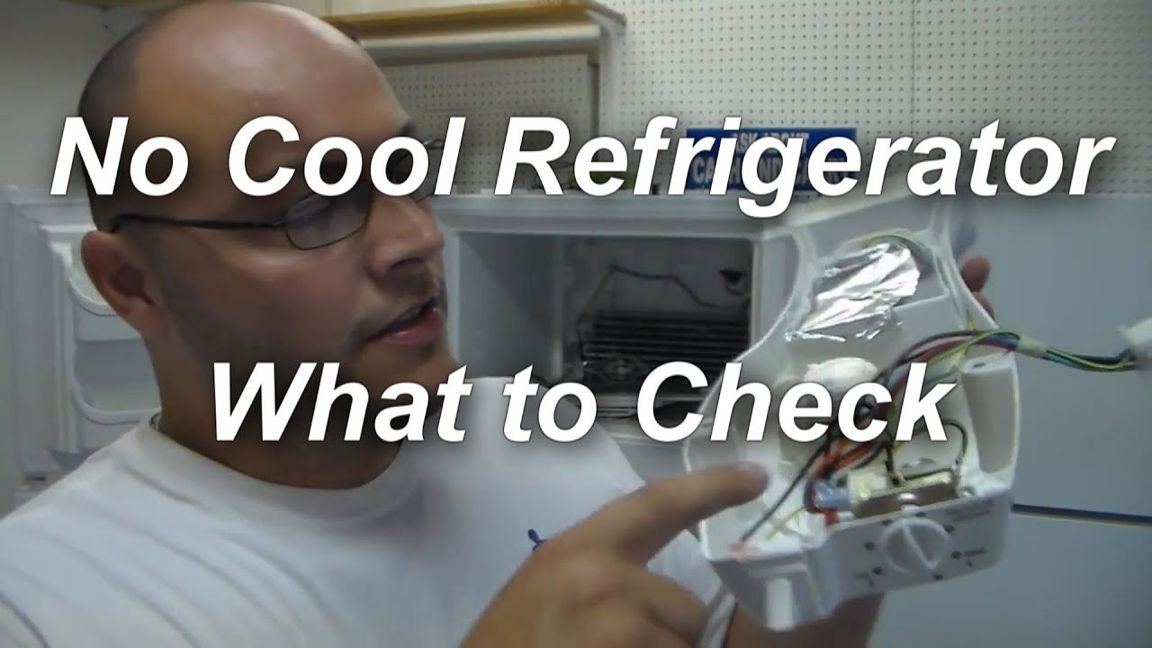 Refrigerator Not Cooling What To Check Youtube Best