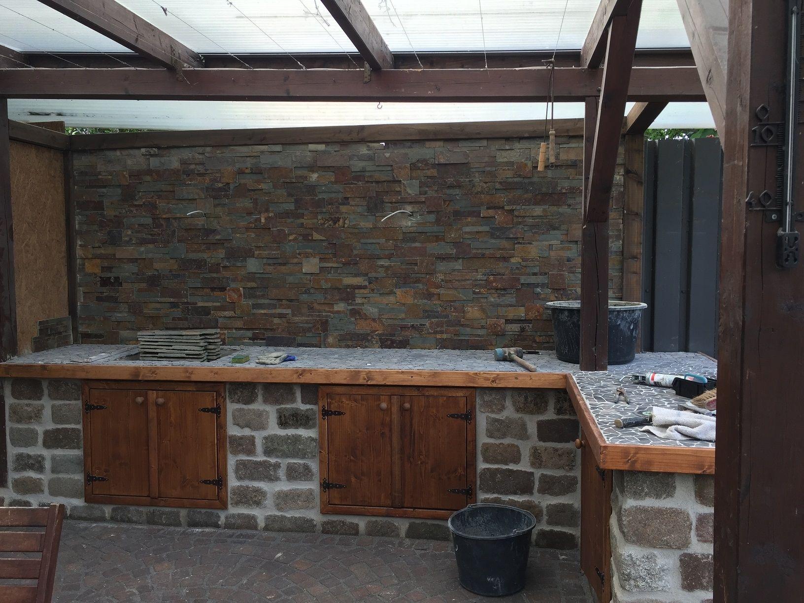 Aussenküche & Terrasse Bauanleitung zum selber bauen | Garten 1-2-do ...