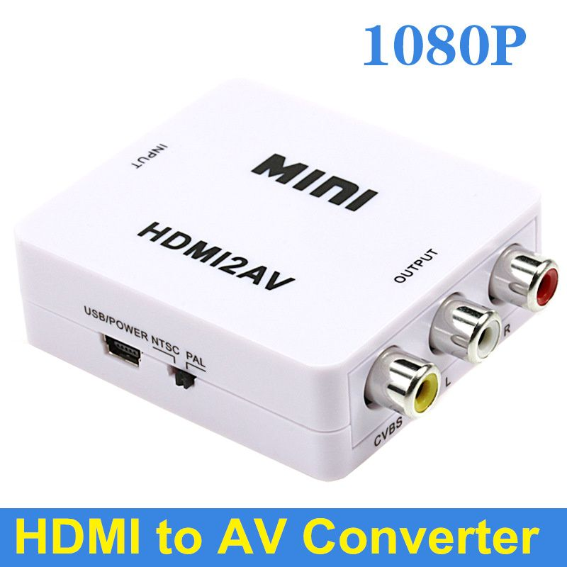 HDMI to AV audio converter