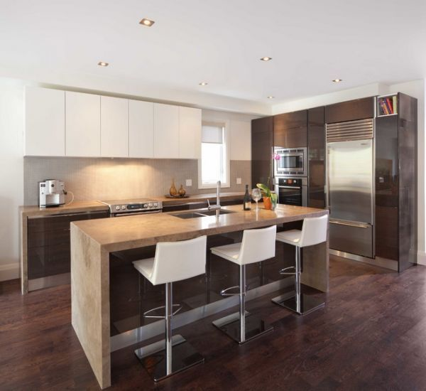 Recessed Lighting Is A Por Choice In The Modern Kitchen