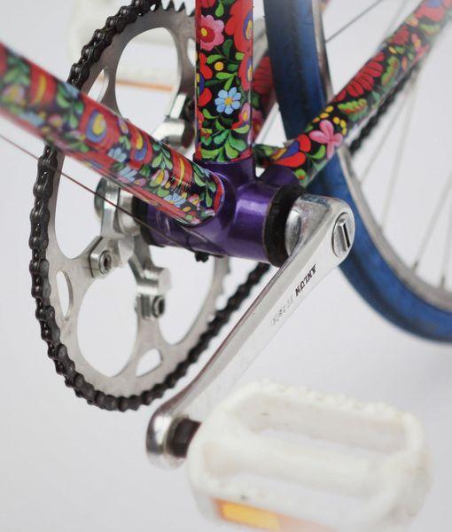 Flower Power Paint Bike Bicycle Painting Bike Art