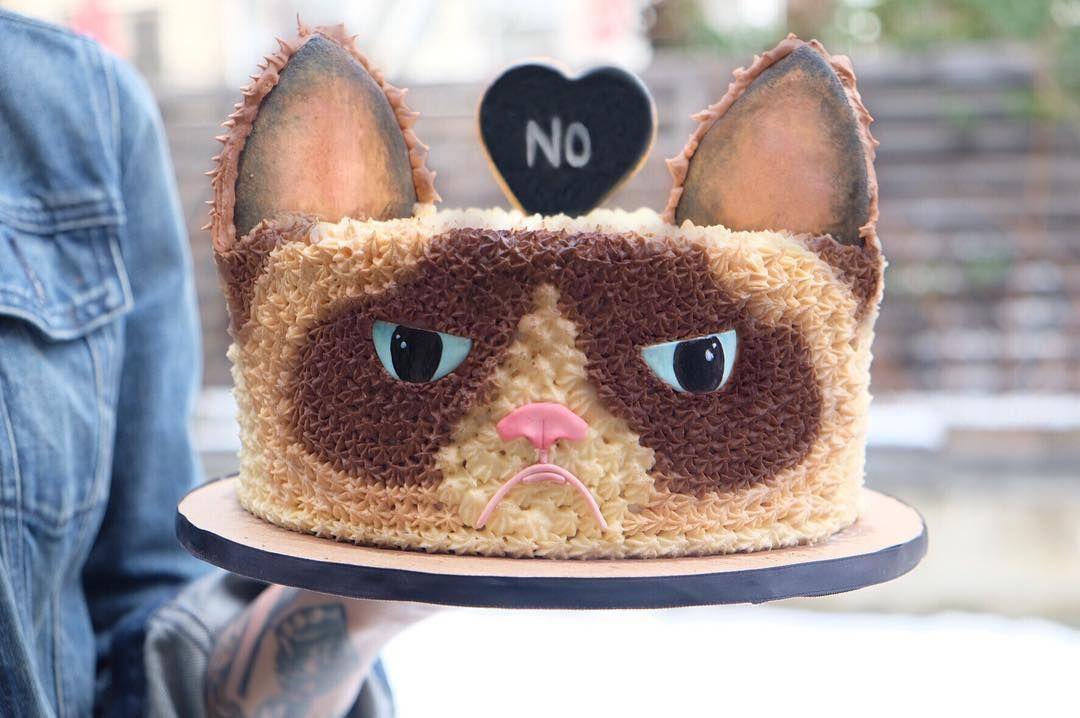 grumpy cat cake Food Art Pinterest Grumpy face Grumpy cat