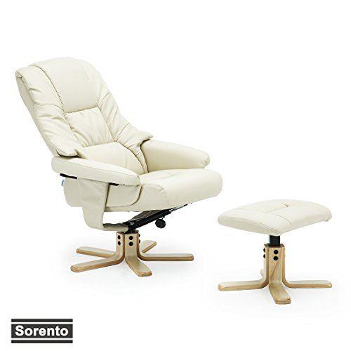 Pleasing More4Homes Sorento Bonded Leather Swivel Recliner Chair Evergreenethics Interior Chair Design Evergreenethicsorg
