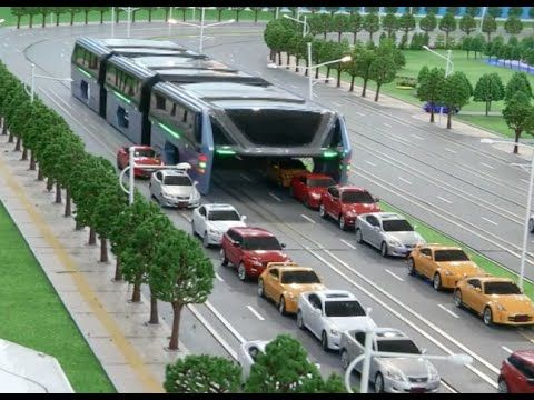 The Future Of Public Transit China Unveils Model For Its Elevated