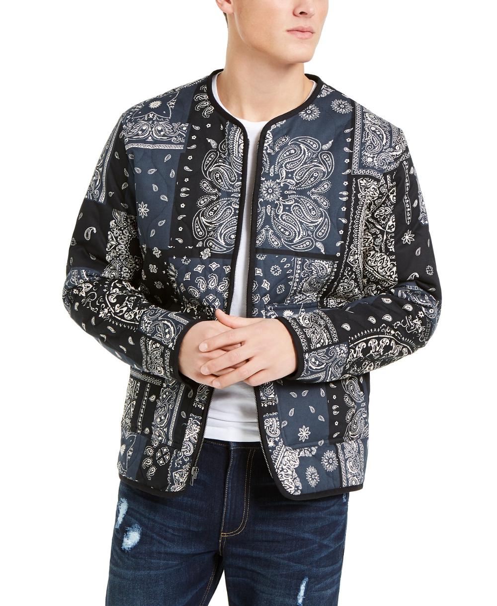 Sun Stone Men S Bandana Print Jacket Created For Macy S Reviews Coats Jackets Men Macy S Bandana Print Print Jacket Jackets [ 1219 x 1000 Pixel ]