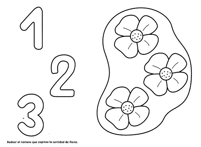 Image Of Flores Para Colorear Con Numeros Dibujo mágico de una abeja ...