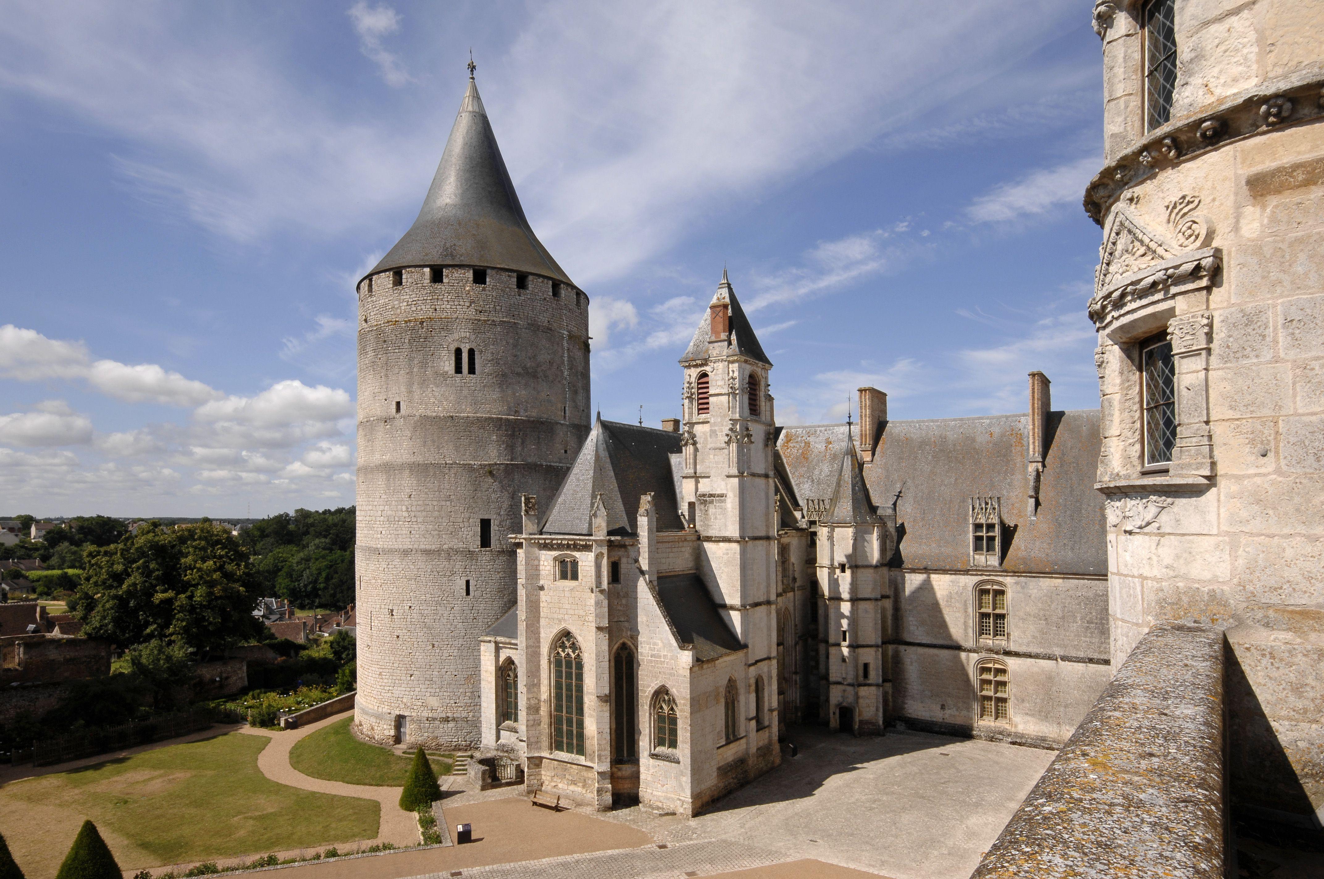 Château de Châteaudun, France. #Châteaudun #leCMN
