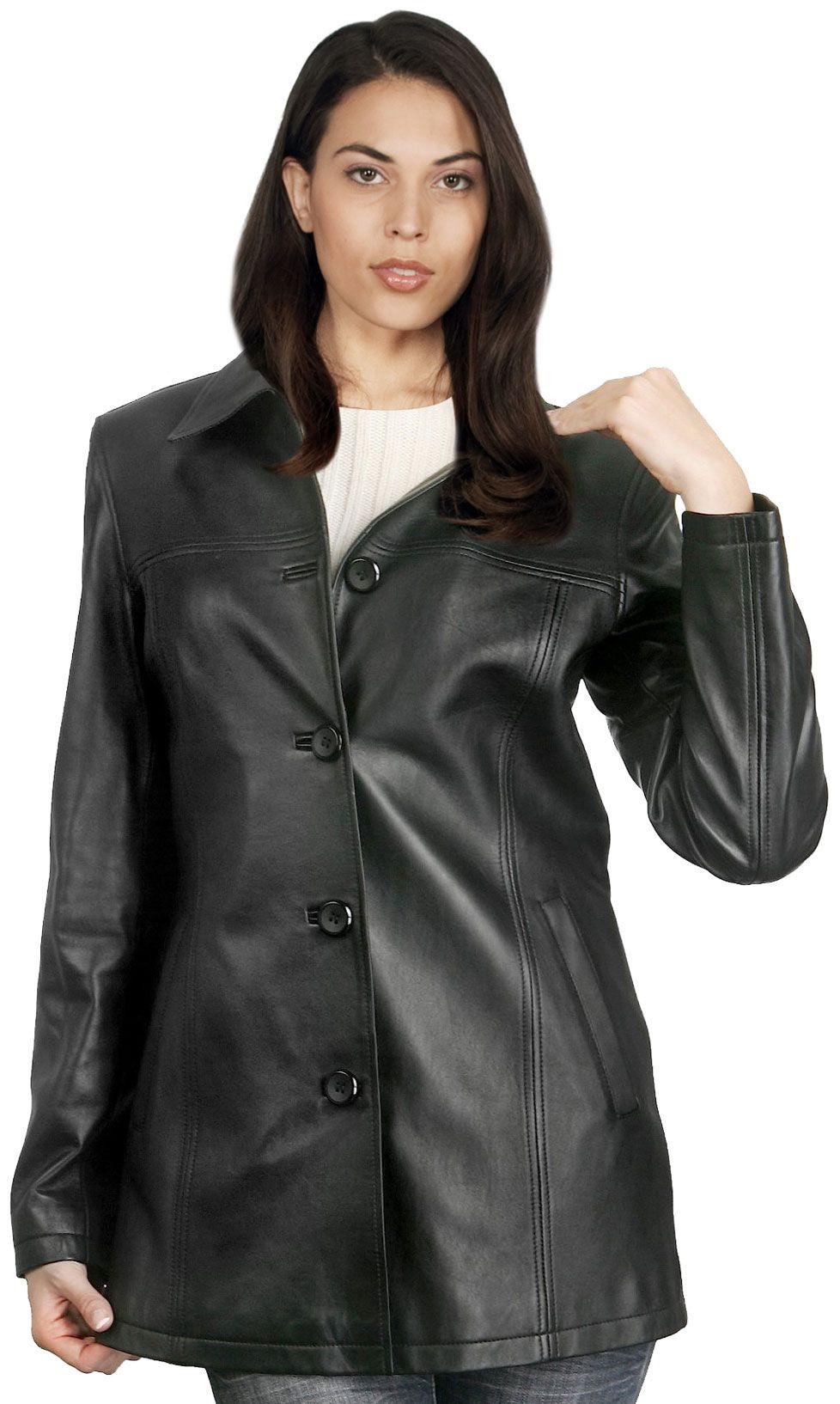 Buy soft lambskin womens leather coats online | Coats | Pinterest ...